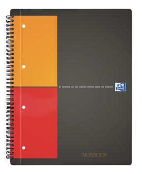 Oxford cahier International Notebook Connect, avec pages à scanner, 160 pages, ft A4+, quadrillé 5 mm