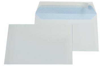 Gallery enveloppes, ft 114 x 162 mm (C6), bande adhésive, intérieur bleu