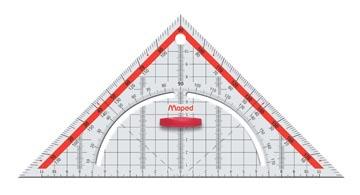 Maped équerre géométrique Technic