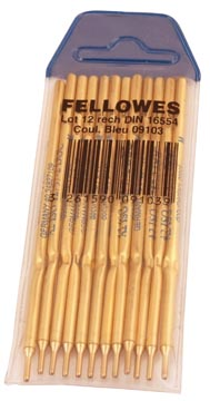 Fellowes Recharge stylophore, bleu