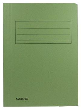 Class'ex chemise de classement, vert, ft 23,7 x 32 cm (pour ft A4)
