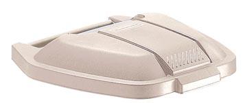 Rubbermaid couvercle pour conteneur mobile Base, beige