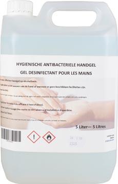 Gel mains hygiénique antibactérien, recharge de 5 litres