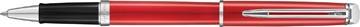 Waterman roller Hémisphère Red Comet avec détail en palladium