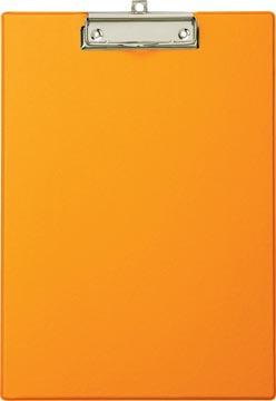 Maul plaque à pince, en PP, pour ft A4, oranje
