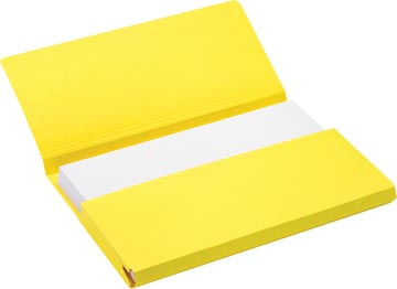 Jalema Secolor Pochette documents pour ft folio (34,8 x 23 cm), jaune