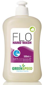 Greenspeed savon pour les mains, pour usage fréquent, parfum de fleurs, flacon de 500 ml