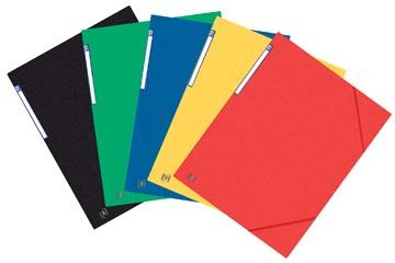 Oxford Top File+ farde à rabats, pour ft A3, couleurs assorties