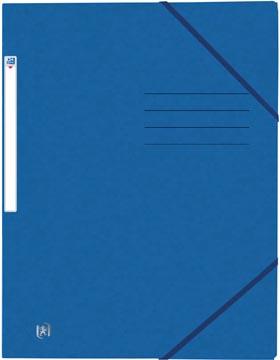 Oxford Top File+ farde à rabats, pour ft A4, bleu