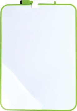 Desq Tableau blanc magnétique, ft 24 x 34 cm, vert