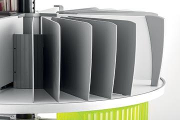 Moll kit de séparateurs pour colonne rotative Multifile