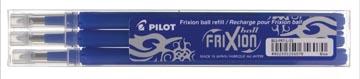 Pilot recharge pour FriXion Ball et Frixion Ball Clicker, pointe moyenne, bleu