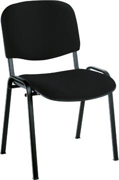EOL chaise visiteur Anthra+, tissu Bondaï noir