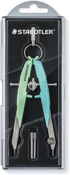 Staedtler compas Mars Comfort 556, vert-bleu pastel
