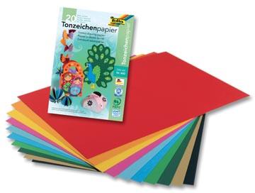 Folia papier à dessin coloré