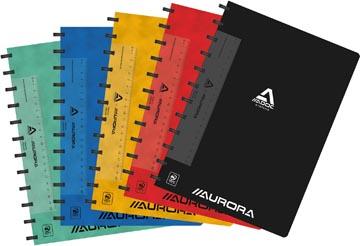 Adoc Classic cahier, ft A4, 144 pages, quadrillé commercial, couleurs assorties