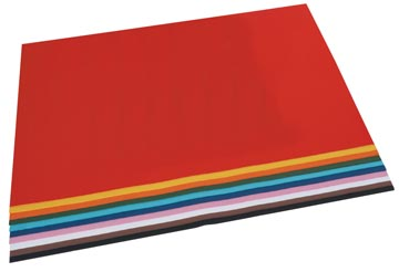 Folia carton photo couleurs assorties