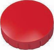 Maul aimant Solid, diamètre 24 mm x 8 mm, rouge, boîte de 10 pièces