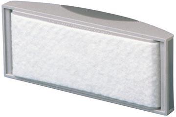 Maul brosse d'effaçage avec bande en non-tissé, gris
