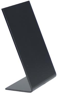 Securit ardoise de table L-forme ft A7, 5 pièces