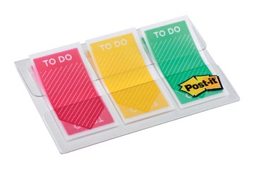 Post-it Index To Do, ft 23,8 x 43,1, paquet de 3 x 20