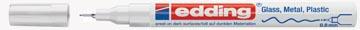 Edding marqueur peinture, e-780 CR, blanc