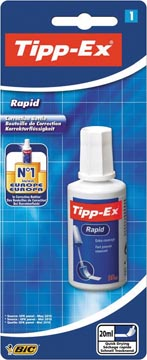 Tipp-Ex correcteur liquide Rapid, sous blister