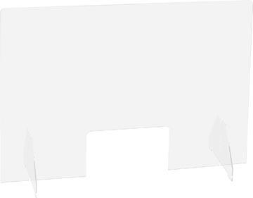 Exascreen écran de protection pour expiration, lisse, à poser, ft 90 x 65 cm