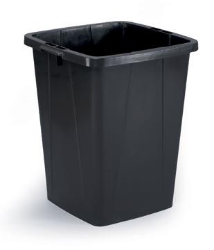 Durable poubelle Durabin 90 litre, noir