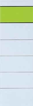 Etiquettes de dos, ft 5,4 x 19 cm, paquet de 10 pièces
