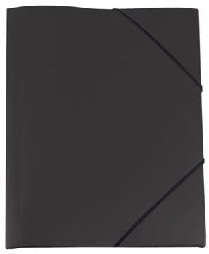 Pergamy chemise à rabats et élastiques noir