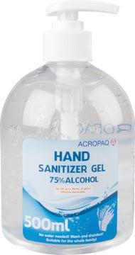 Gel désinfectant, bouteille de 500 ml