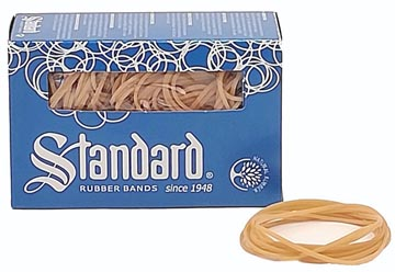 Standard élastiques, 1,5 x 80 mm, boîte de 100 g