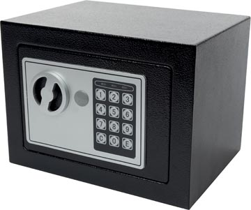 Toolland coffre-fort élektronique, ouverture et fermeture avec code de 3-8 ciffres