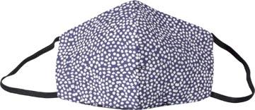 Masque lavable, motif lots of dots, taille: femmes, paquet de 5 pièces