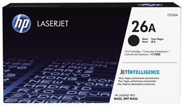 HP toner 26A, 3 100 pages, OEM CF226A, noir