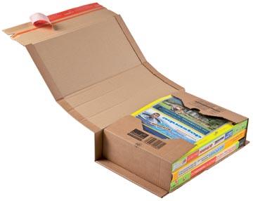 Colompac boîte d'expédition CP020, ft 32,5 x 25 x 8 cm, brun