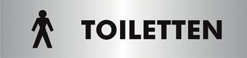 Stewart Superior signe auto-adhésif heren toiletten