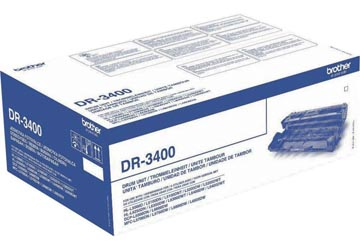 Brother tambour, 50.000 pages, OEM DR-3400, noir