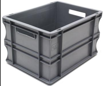 Viso bac de manutention capacité 20l, gris