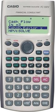 Casio calculatrice financière FC-100V