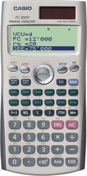 Casio calculatrice financière FC-200V