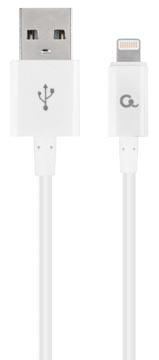 Gembird Cablexpert câble de charge et synchronisation, USB 2.0/8 broches, 1 m, blanc