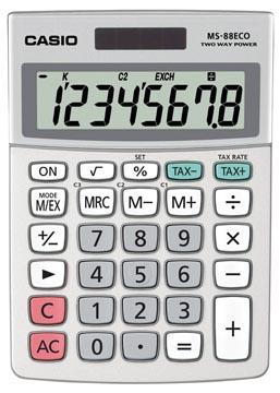 Casio calculatrice de bureau MS-88 ECO
