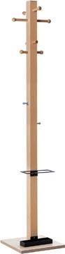 Portemanteau Easycloth model B, en bois, noir