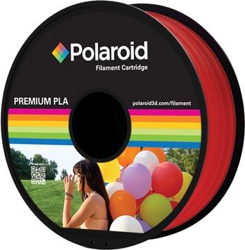 Polaroid 3D Universal Premium PLA filament, 1 kg, rouge