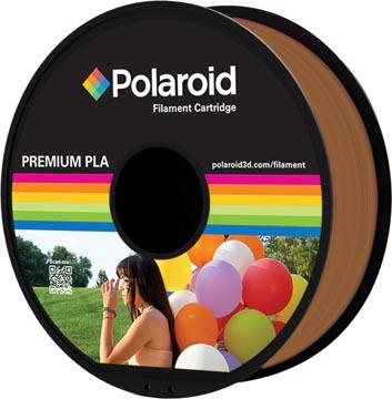 Polaroid 3D Universal Premium PLA filament, 1 kg, brun