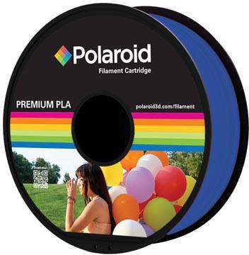 Polaroid 3D Universal Premium PLA filament, 1 kg, bleu clair transparant
