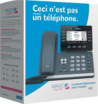 Magic IP Plug & Play by Interfone T53, central téléphonique prêt à l'emploi