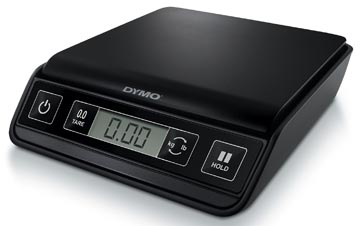 Dymo pèse-lettres M1, pèse jusqu'à 1 kg, intervalle de poids de 1 g